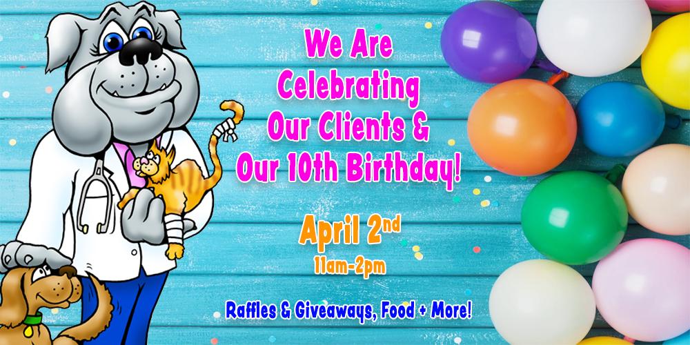 10th Birthday -Client Appreciation Event