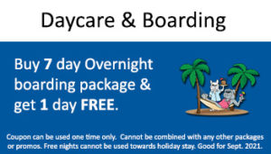Kennel – Buy 7 Day Overnight Get 1 Free